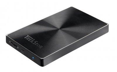 "Жорсткий диск TrekStor DataStation Pocket q.ue 320GB TS25-320PQUEB 2.5"" USB 2.0 External Black Refurbished"