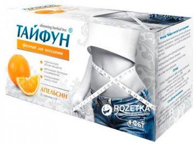 Фиточай пакетированный Тайфун Апельсин для похудения 30 фильтр-пакетов х 2 г (4823015917684)