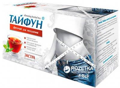 Фиточай пакетированный Тайфун Экстра для похудения 30 фильтр-пакетов х 2 г (4823015917691)