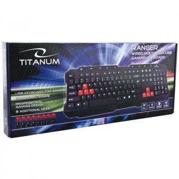 Клавиатура Esperanza Titanium TKR105 Black