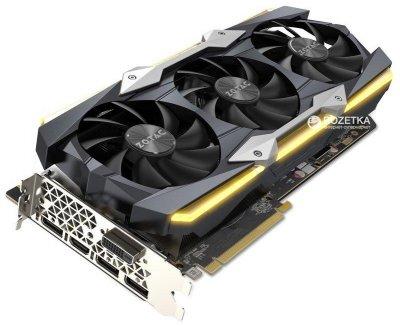 Zotac GeForce GTX 1080 Ti Extreme 11GB GDDR5X (352bit) (1607/11200) (DVI, HDMI, 3 x DisplayPort) (ZT-P10810F-10P)