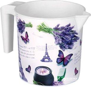 Кухоль-лійка Elif Plastik Принт 1.5 л 20х13.5х20 см Париж (337-8-париж)
