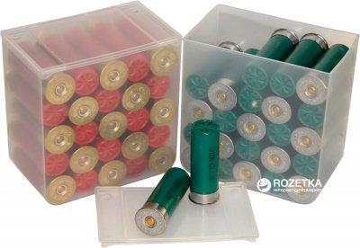 Коробка МТМ SS25 для патронов 12 к на 25 патр. 4 шт Прозрачная (17730899)