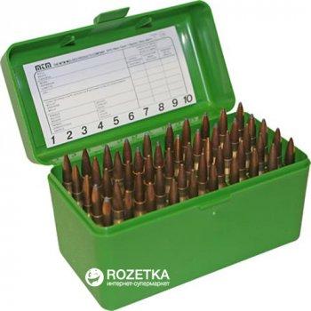 Кейс МТМ R-50 для патронов 308win, 30-06 на 50 патр. Зеленый (17730475)