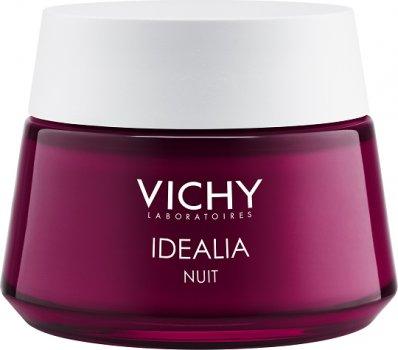 Гель-бальзам Vichy Idealia для лица ночной восстанавливающий 50 мл (3337871330118)