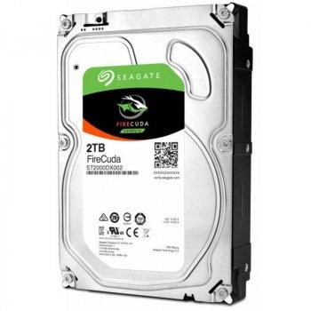 Накопичувач HDD SATA 2.0 TB Seagate FireCuda SSHD 64MB (ST2000DX002)
