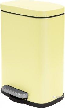Відро для сміття SPIRELLA Akira 30х21.4 см з педаллю жовте (10.19839)