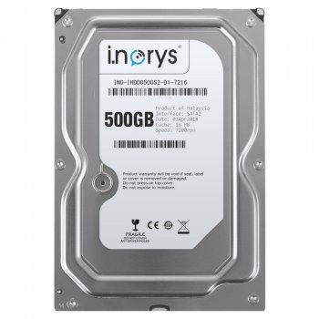 Жесткий диск i.norys 500GB 7200rpm 16MB INO-IHDD0500S2-D1-7216 3.5 SATAII
