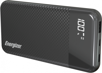 УМБ Energizer UE10037PQ 10000 mAh QC3.0 Type-C Black (UE10037PQ (B))