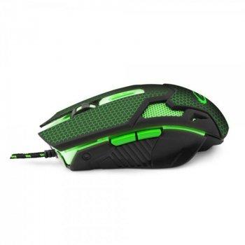 Миша Esperanza EGM207G Cobra Black/Green USB