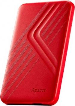 """Накопитель внешний HDD 2.5"""" USB 2.0TB Apacer AC236 Red (AP2TBAC236R-1)"""