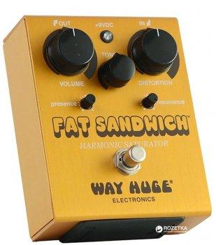Педаль эффектов Way Huge WHE301 Fat Sandwich Harmonic Saturator Distortion