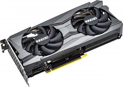 INNO3D PCI-Ex GeForce RTX 3060 Twin X2 12GB GDDR6 (192bit) (1777/15000) (3 x DisplayPort, HDMI) (N30602-12D6-1190VA32A)