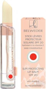 Солнцезащитная увлажняющая губная помада Belweder Stick Solaire Protecteur SPF20, с витамином Е 3.5 г (850244BWD) (3760102850244)