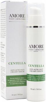 Крем-сыворотка концентрированная Amore с центеллой для лечения проблемной кожи 50 мл (4806065748262)