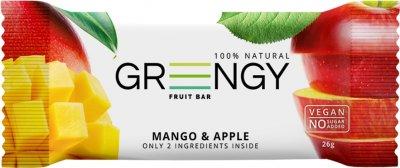Упаковка батончиков Greengy Манго и яблоко 12 шт х 26 г (4820221320550)