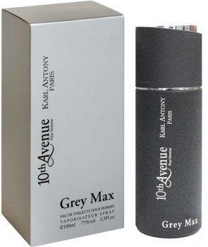 Тестер Туалетна вода для мужчин Karl Antony 10th Avenue Grey Max аналог Paco Rabanne - 1 Million 100 мл (ROZ6400104557)