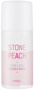 Маска пенная A'pieu Stone Peach Pore Less Очищающая 60 мл (8806185761635)