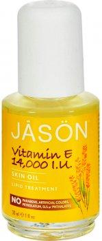 Олія Jason з вітаміном Е 14,000 ME Омолодження та зволоження 31 мл (078522040217)
