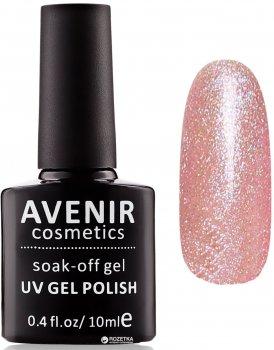 Гель-лак Avenir Cosmetics 153 Кавово-рожева голографія 10 мл (5900308130698)