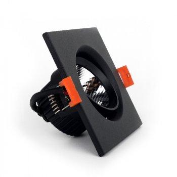 ElectroHouse LED світильник стельовий чорний 5W кут повороту 45° 4100К