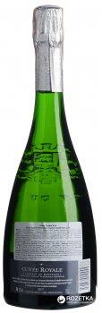 Вино игристое Maison Bouey Cuvee Royale белое брют 0.75 л 12% (3504300000038)