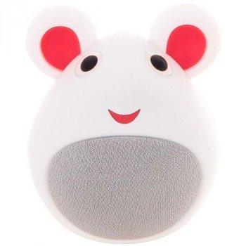 Портативна бездротова Bluetooth колонка у формі мишки iCutes MB-M919 NEW Біла