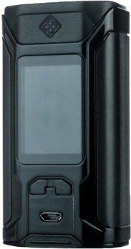 Батарейный мод Wismec Sinuous Ravage TK 230W High Gloss Black (1071215)