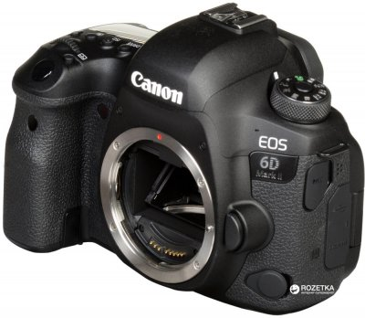 Фотоапарат Canon EOS 6D Mark II Body (1897C031AA) Офіційна гарантія!