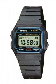 Чоловічі годинники Casio F-91W-1Q