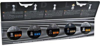 Свинцеві кулі RWS Field Kit 0.53-0.61 г 1000 шт. (2319083)
