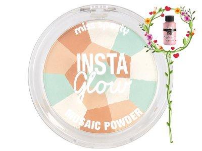 Пудра-мозаика для лица Miss Sporty Insta Glow Mosaic Powder 001 LUMINOUS LIGHT 7,29гр (3614222811183)