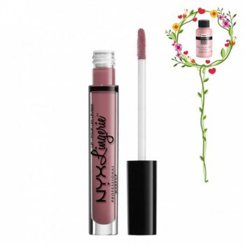 Помада для губ Жидкая помада NYX Professional Makeup Lip Lingerie Liquid Lipstick LIPLI02 EMBELLISHMENT 4 мл (3600531359294)