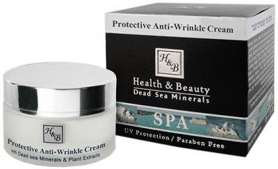 Мужской защитный крем для лица Health & Beauty от морщин SPF-15 50 мл (7290012326592)