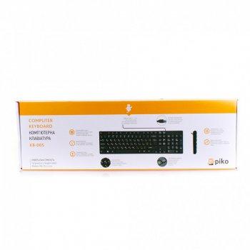 Дротова клавіатура Piko KB-005 Black (AS 511442)