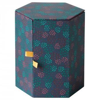 Декоративна коробочка IKEA ANILINARE 14x16 см зелена червона 704.021.12
