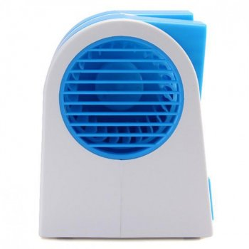 Вентилятор охолоджувач і зволожувач повітря USB і батарейки портативний Fan