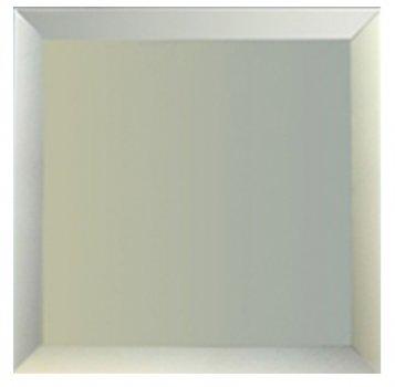 Дзеркальна плитка UMT 350х350 мм фацет 15 мм срібло (ПФС 350-350)