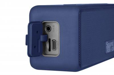 Портативна Bluetooth колонка 2E SoundXBlock Blue