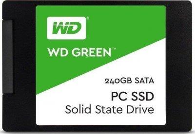 "Накопичувач SSD 2.5"" SATA 240Gb WD Green (WDS240G2G0A)"