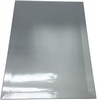 Зеркальная плитка UMT 200х500 мм фацет 15 мм серебро (ПФС 200-500)