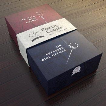 Подарунковий набір Uncle Viner Power Couple, электроштопор з акумуляторами та аксесуарами, Best seller в США