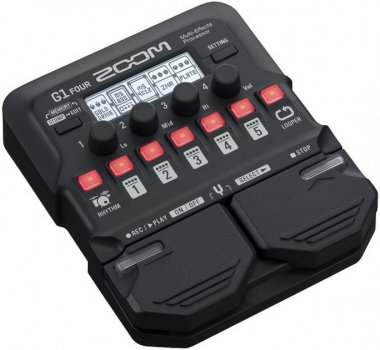 Гитарный процессор Zoom G1 FOUR