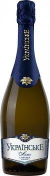 Вино ігристе Українське Лілея біле солодке 0.75 л 10.5-12.5% (4820001460667)
