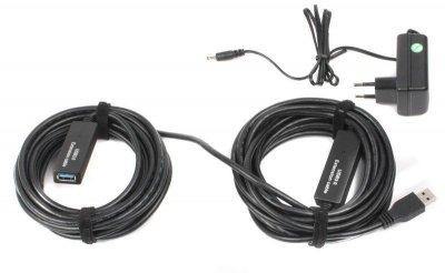 Кабель Viewcon (VV053-10M) активний подовжувач USB3.0, 10м