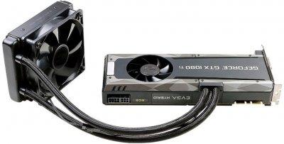 EVGA PCI-Ex GeForce GTX 1080 Ti SC2 Hybrid Gaming 11GB GDDR5X (352bit) (1556/11016) (DVI, HDMI, 3 x DisplayPort) (11G-P4-6598-KR)