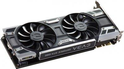 EVGA PCI-Ex GeForce GTX 1080 SC Gaming ACX 3.0 8GB GDDR5X (256bit) (1708/10000) (DVI, HDMI, 3 x DisplayPort) (08G-P4-6183-KR)