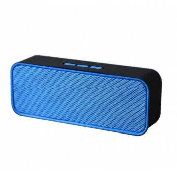Колонка портативная Bluetooth SK SС-3 II синий