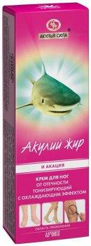 Крем для ног Лучикс Акулий жир и акация От варикоза 75 мл (4601811011009)