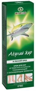 Крем для ног Лучикс Акулий жир и лесной орех От варикоза 75 мл (4607010245856)